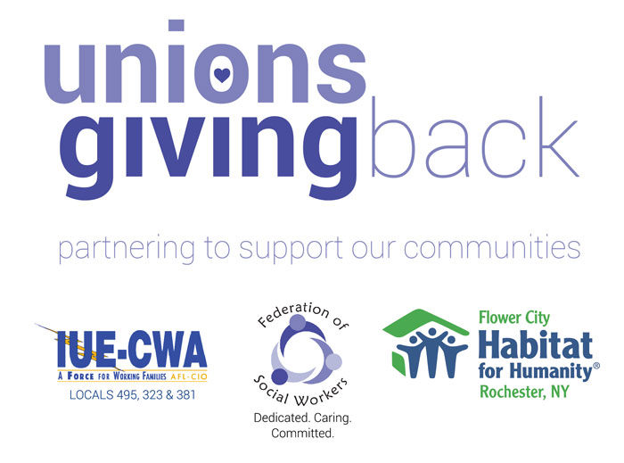 Unions Giving Back